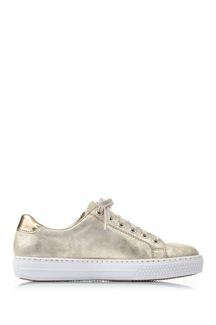Image of Rieker Enya Leather Low Top Sneaker
