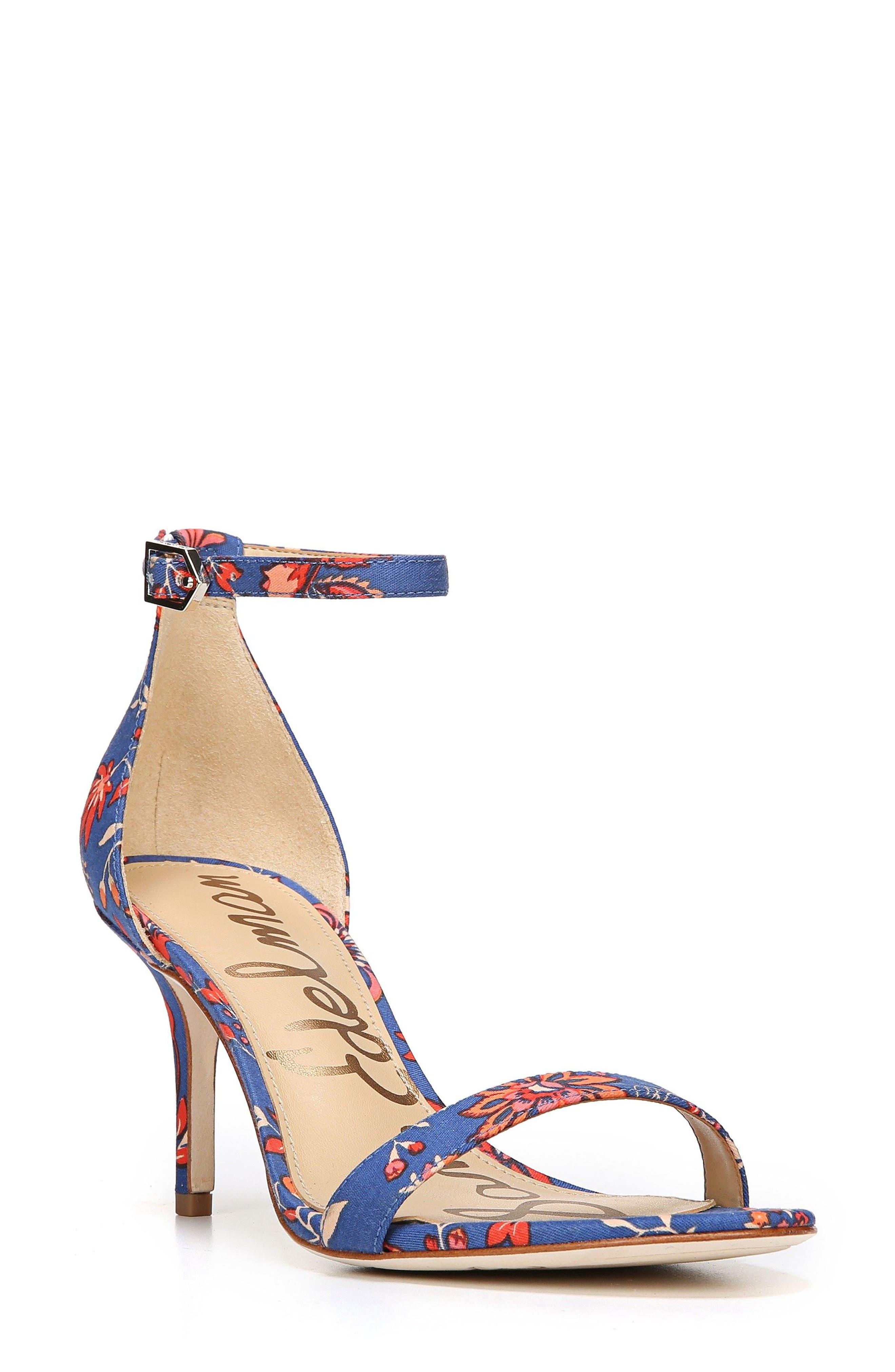 ,                             'Patti' Ankle Strap Sandal,                             Main thumbnail 102, color,                             405