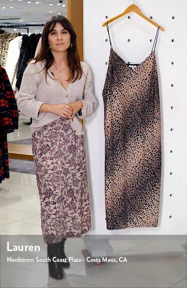 Leopard Print Midi Dress, sales video thumbnail