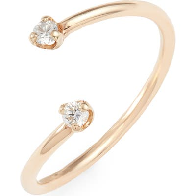 Zoe Chicco Bypass Diamond Ring