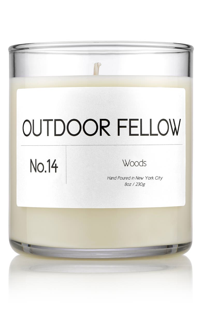 OUTDOOR FELLOW No. 14 Woods Scented Candle, Main, color, WOODS
