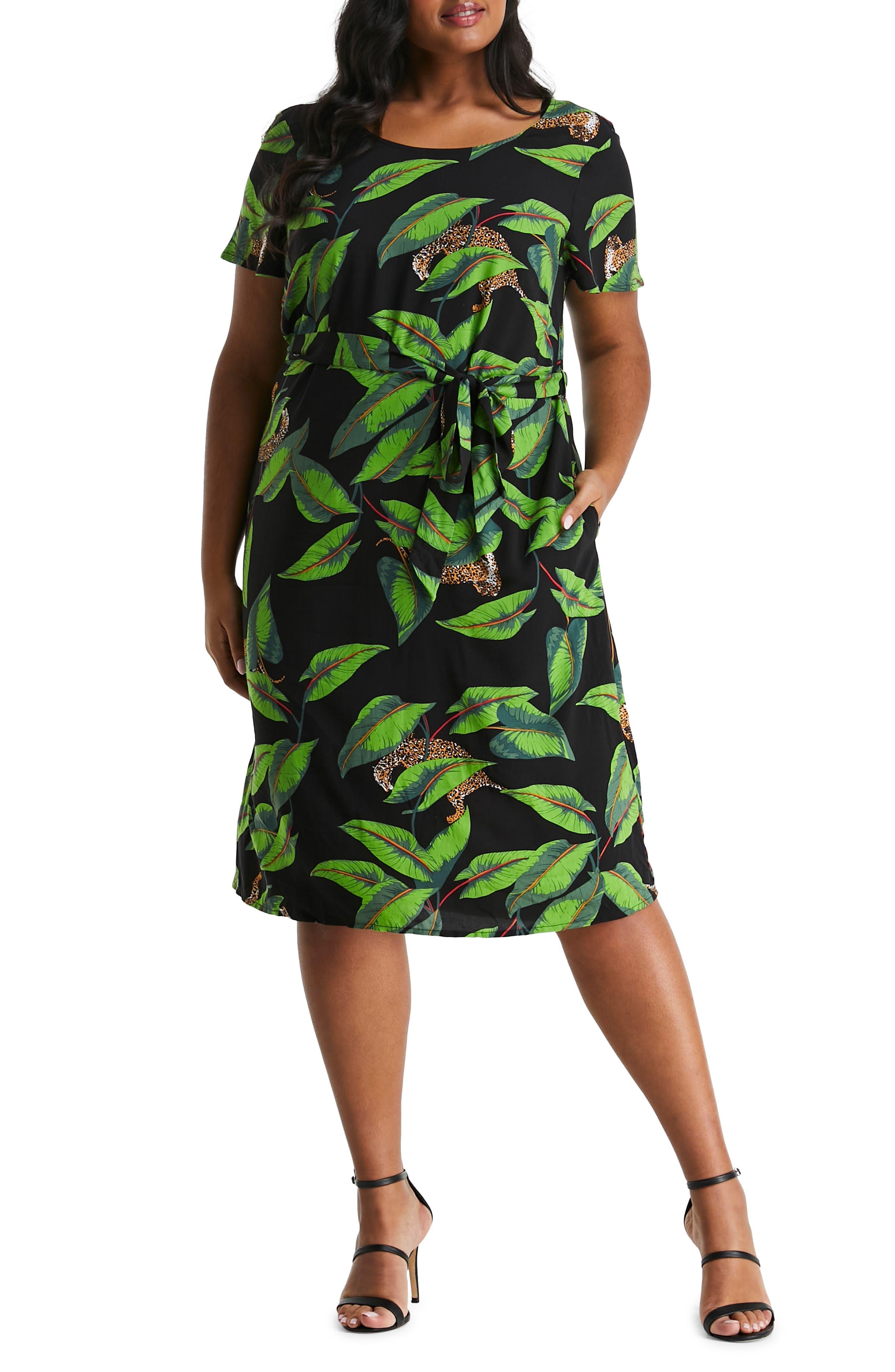 Hidden Leopard Dress