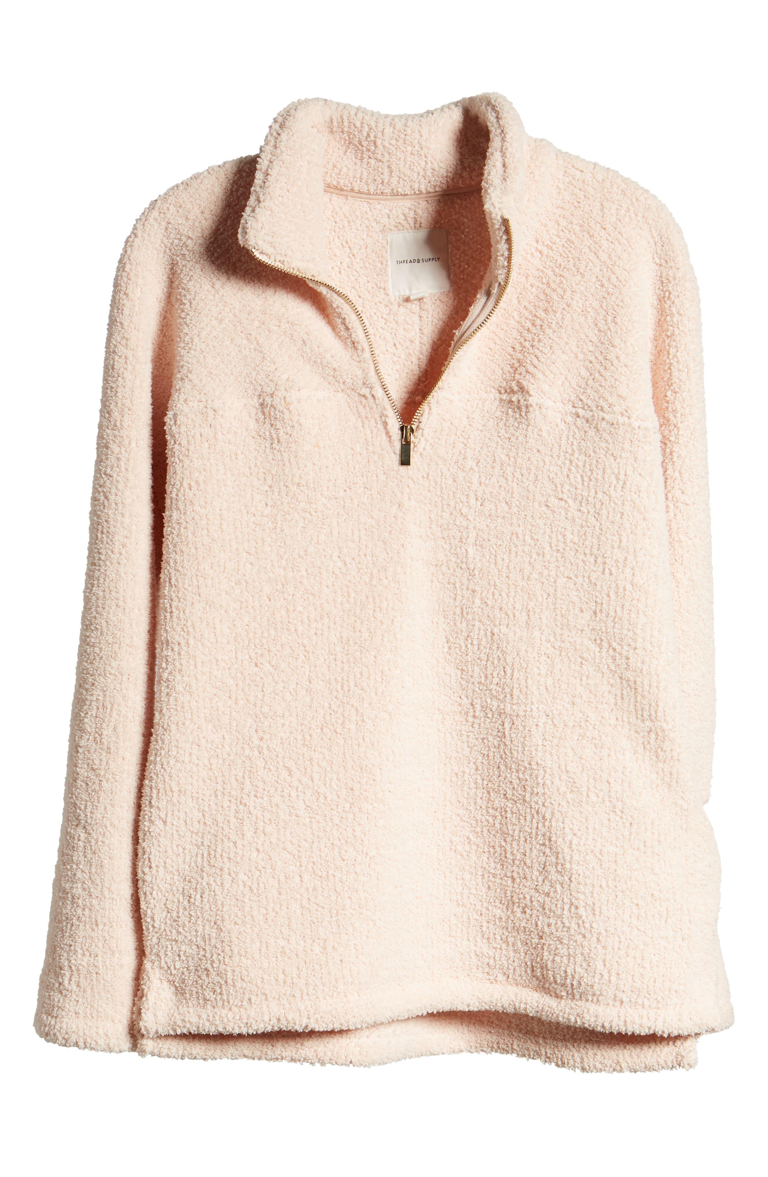 ,                             Drayton Fleece Pullover,                             Alternate thumbnail 12, color,                             900