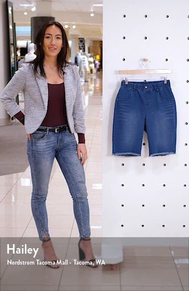 High Waist Bermuda Shorts, sales video thumbnail
