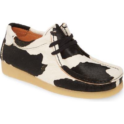 Jeffrey Campbell Husky Genuine Calf Hair Chukka Boot, Black