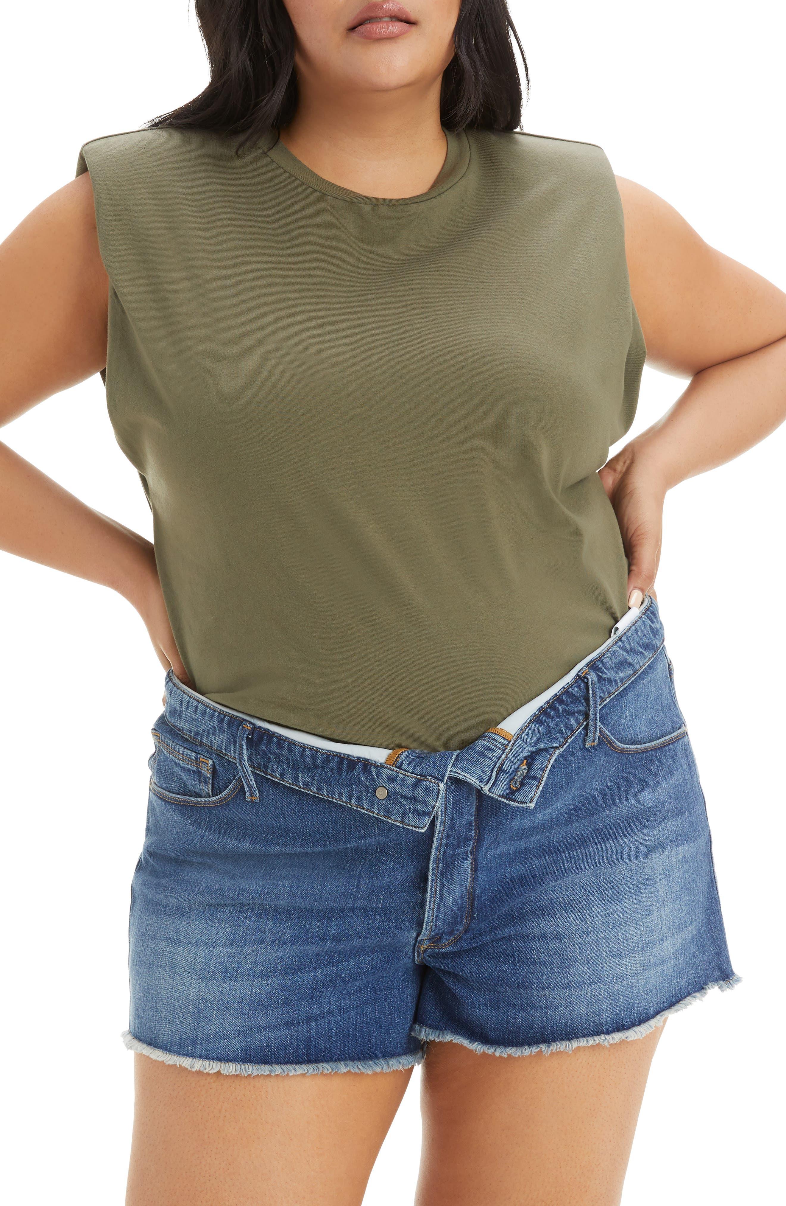 Strong Shoulder Tank Top