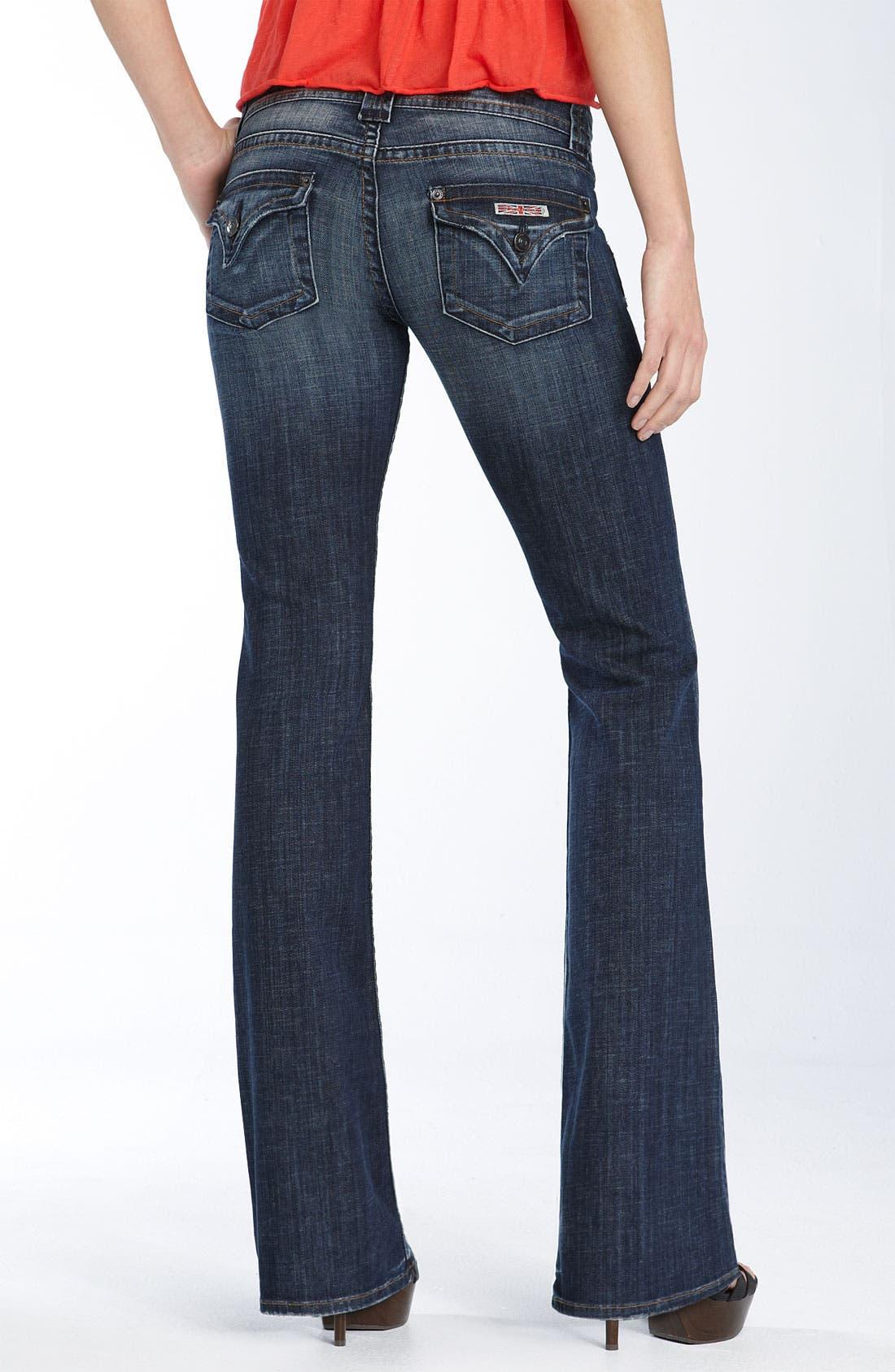 ,                             Signature Flap Pocket Bootcut Jeans,                             Alternate thumbnail 38, color,                             419