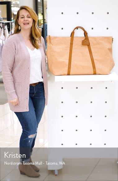 Canvas Weekend Bag, sales video thumbnail