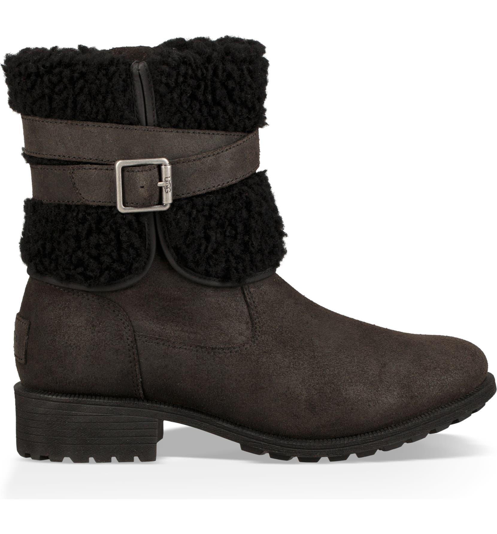 f600bcfe773 Blayre III Wool Cuff Bootie
