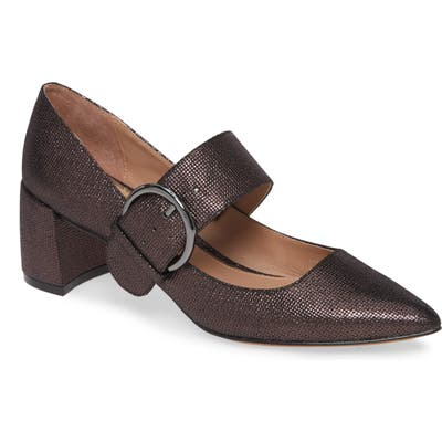 Linea Paolo Burton Mary Jane Pump, Brown
