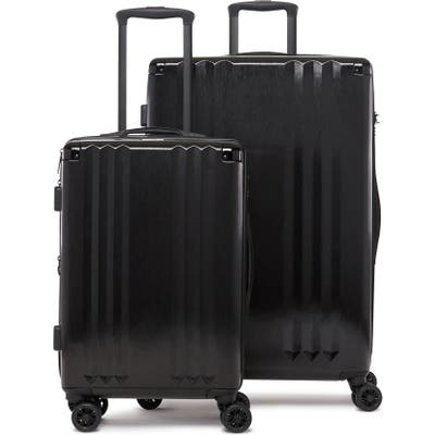 Calpak Ambeur 2-Piece Spinner Luggage Set - Black