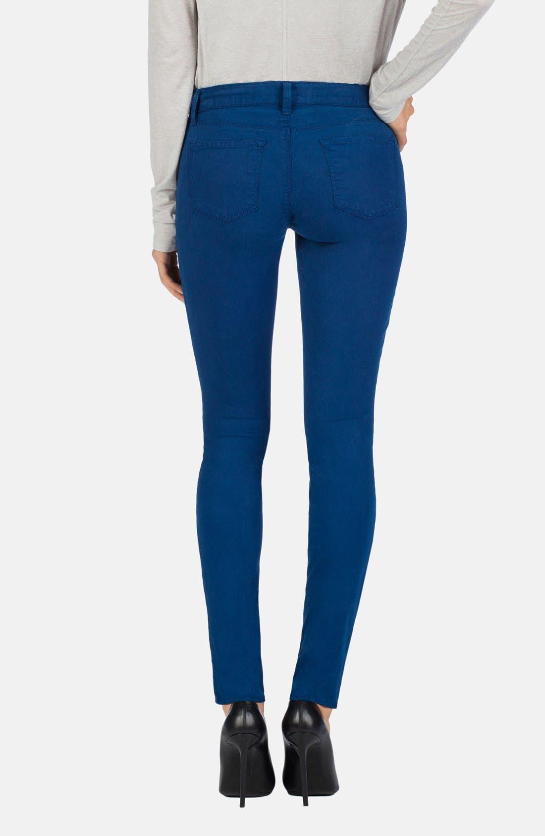 ,                             '485' Mid Rise Super Skinny Jeans,                             Alternate thumbnail 42, color,                             430