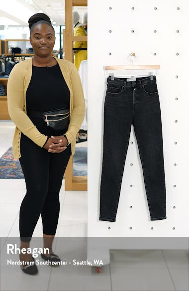 The Authentic Stretch High Rise Skinny Jeans, sales video thumbnail