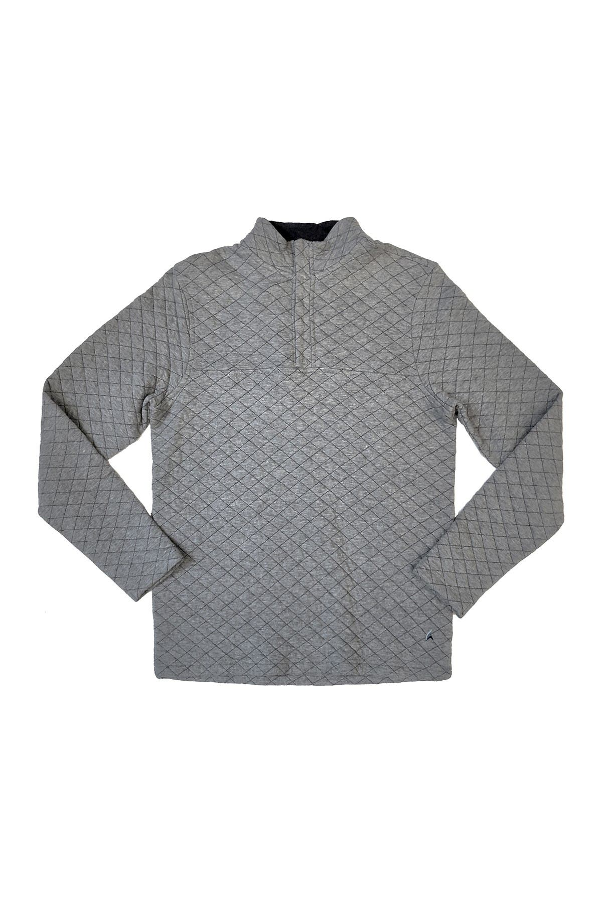 Image of Tailor Vintage Quarter Zip Quilted Knit Pullover