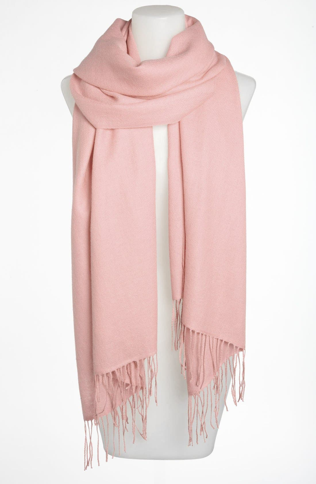 ,                             Tissue Weight Wool & Cashmere Wrap,                             Main thumbnail 189, color,                             694