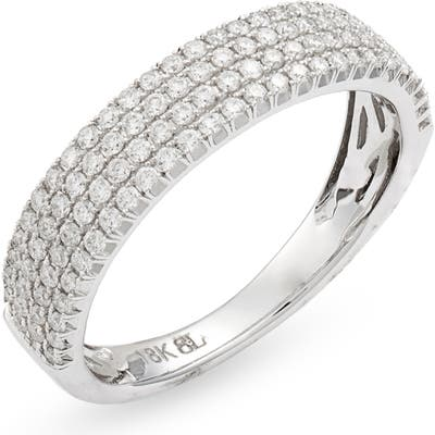 Bony Levy Bardot Wide Band Diamond Ring (Nordstrom Exclusive)