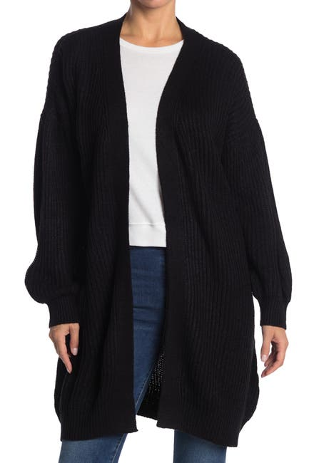 Image of VERO MODA Balloon Sleeve Knit Cardigan