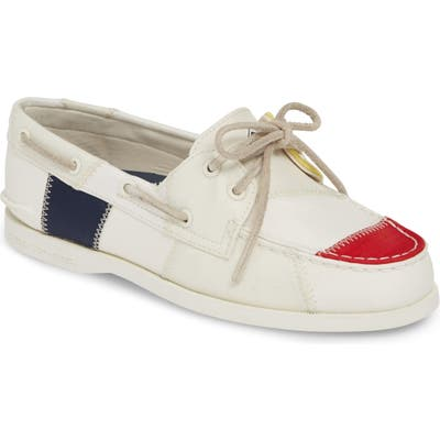 Sperry Authentic Original Bionic Boat Shoe- White