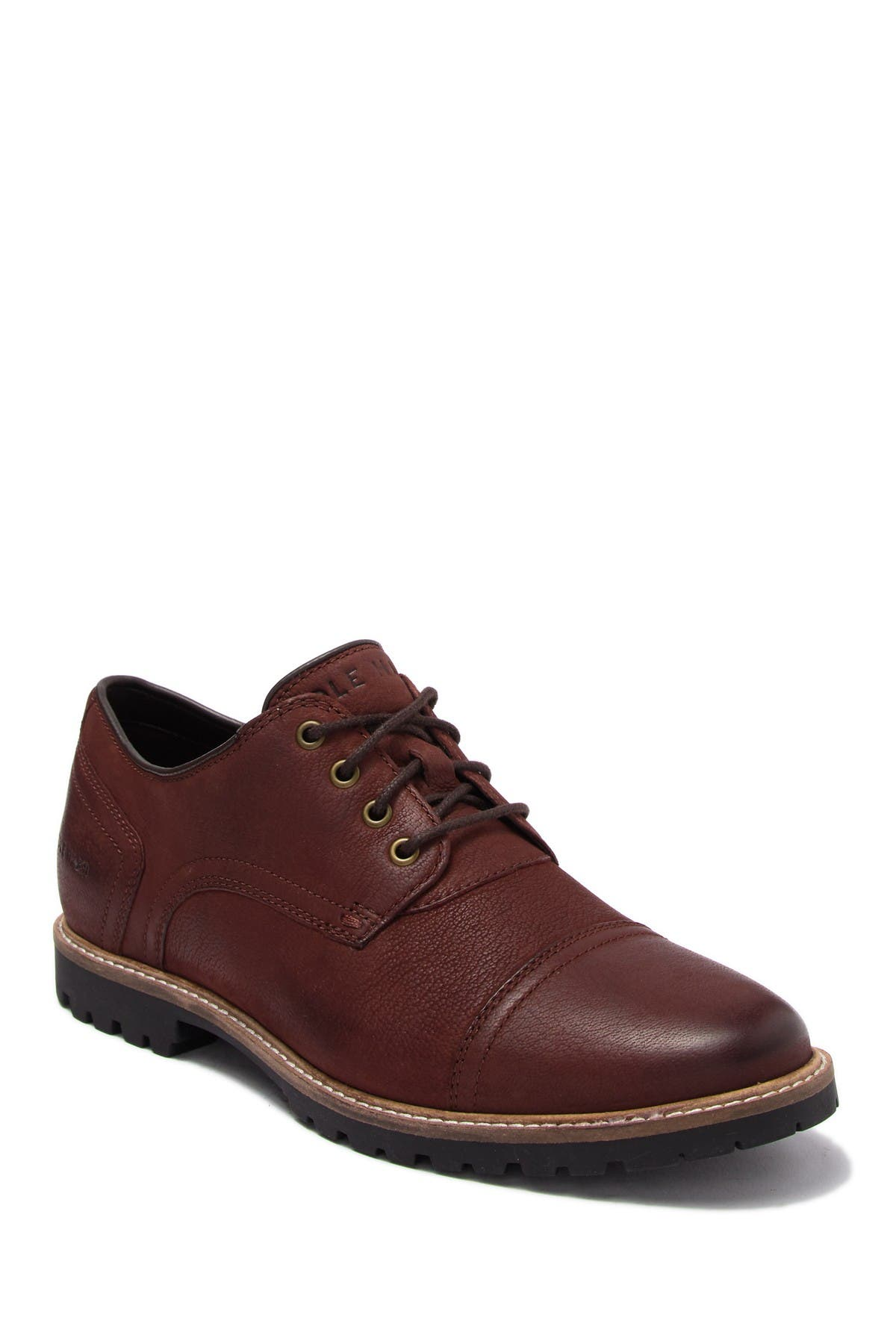 Image of Cole Haan Nathan Cap Toe Leather Derby