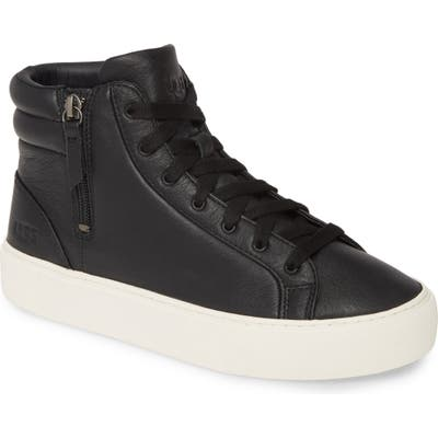 Ugg Olli High Top Sneaker, Black