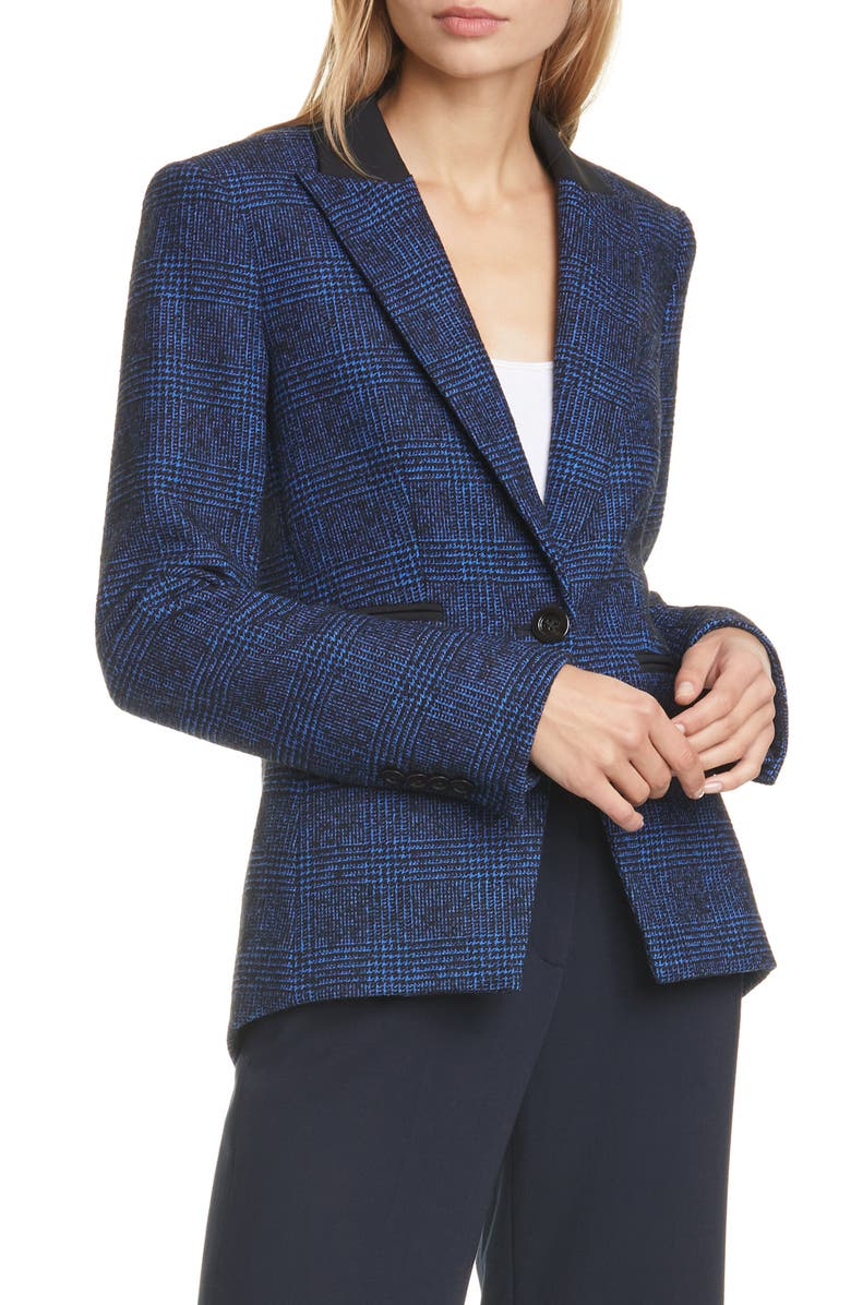 VERONICA BEARD Gia Tweed Dickey Jacket, Main, color, 400