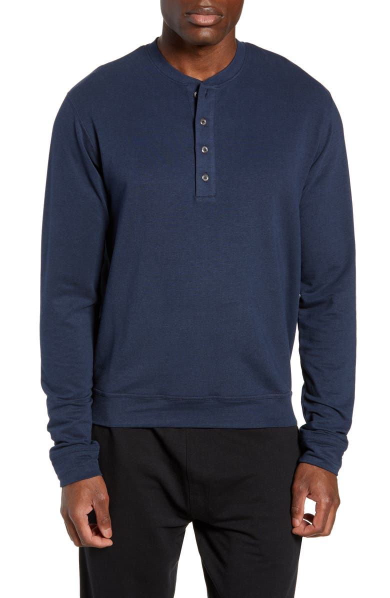TASC PERFORMANCE Legacy Henley, Main, color, CLASSIC NAVY
