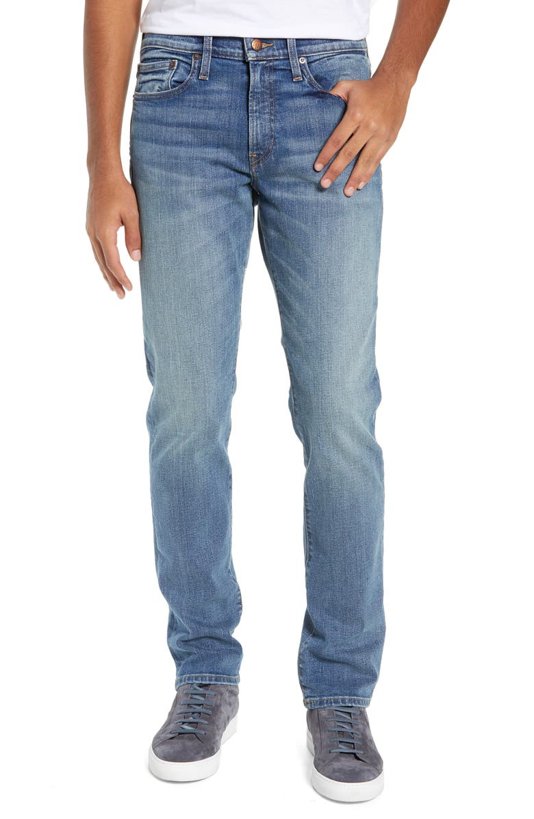 MADEWELL Slim Fit Jeans, Main, color, DANFORTH WASH