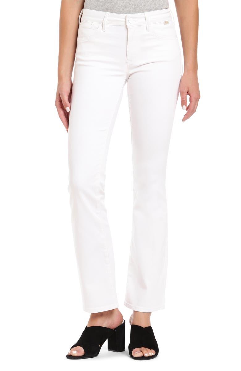 MAVI JEANS Sydney Jeans, Main, color, WHITE GOLD