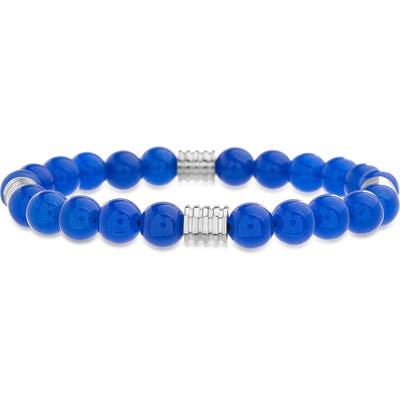 Steve Madden Onyx Bead Bracelet