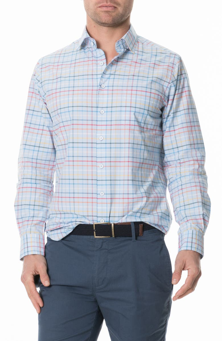 RODD & GUNN Wiltshire Check Regular Fit Button-Up Shirt, Main, color, 442