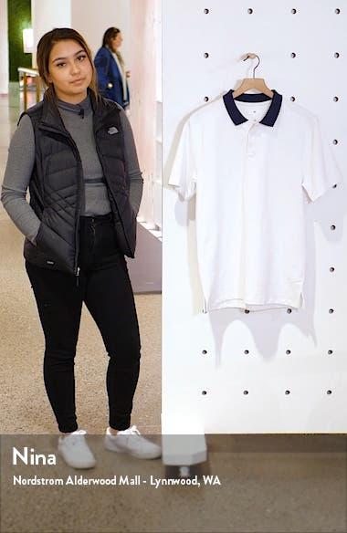 Contrast Collar Piqué Polo, sales video thumbnail