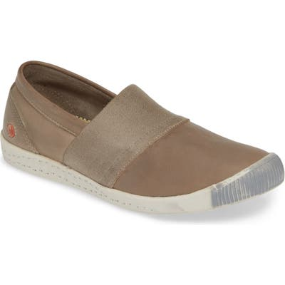 Softinos By Fly London Ino Slip-On Sneaker - Grey