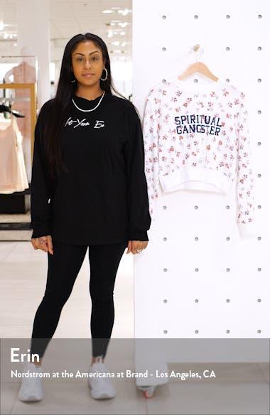 Print Crewneck Sweatshirt, sales video thumbnail