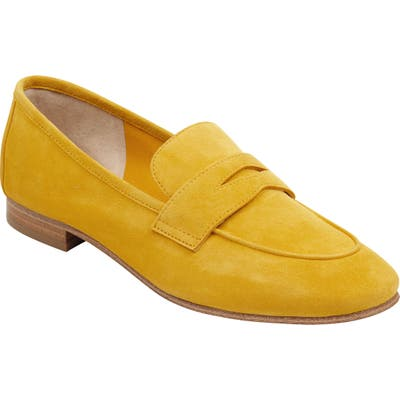 Marc Fisher Ltd Chang Penny Loafer, Yellow