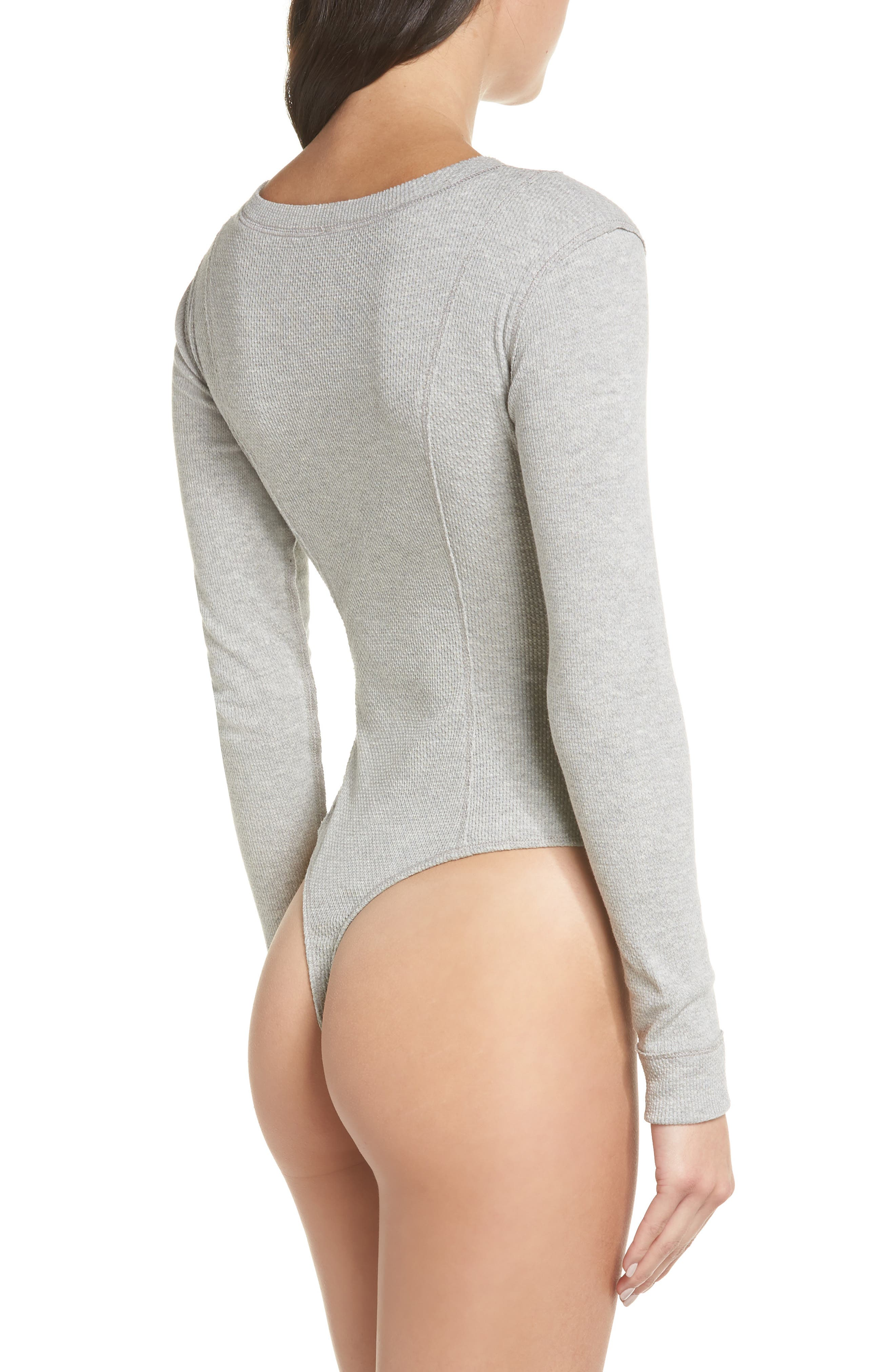 ,                             Intimately FP Frankie Henley Thong Bodysuit,                             Alternate thumbnail 8, color,                             030