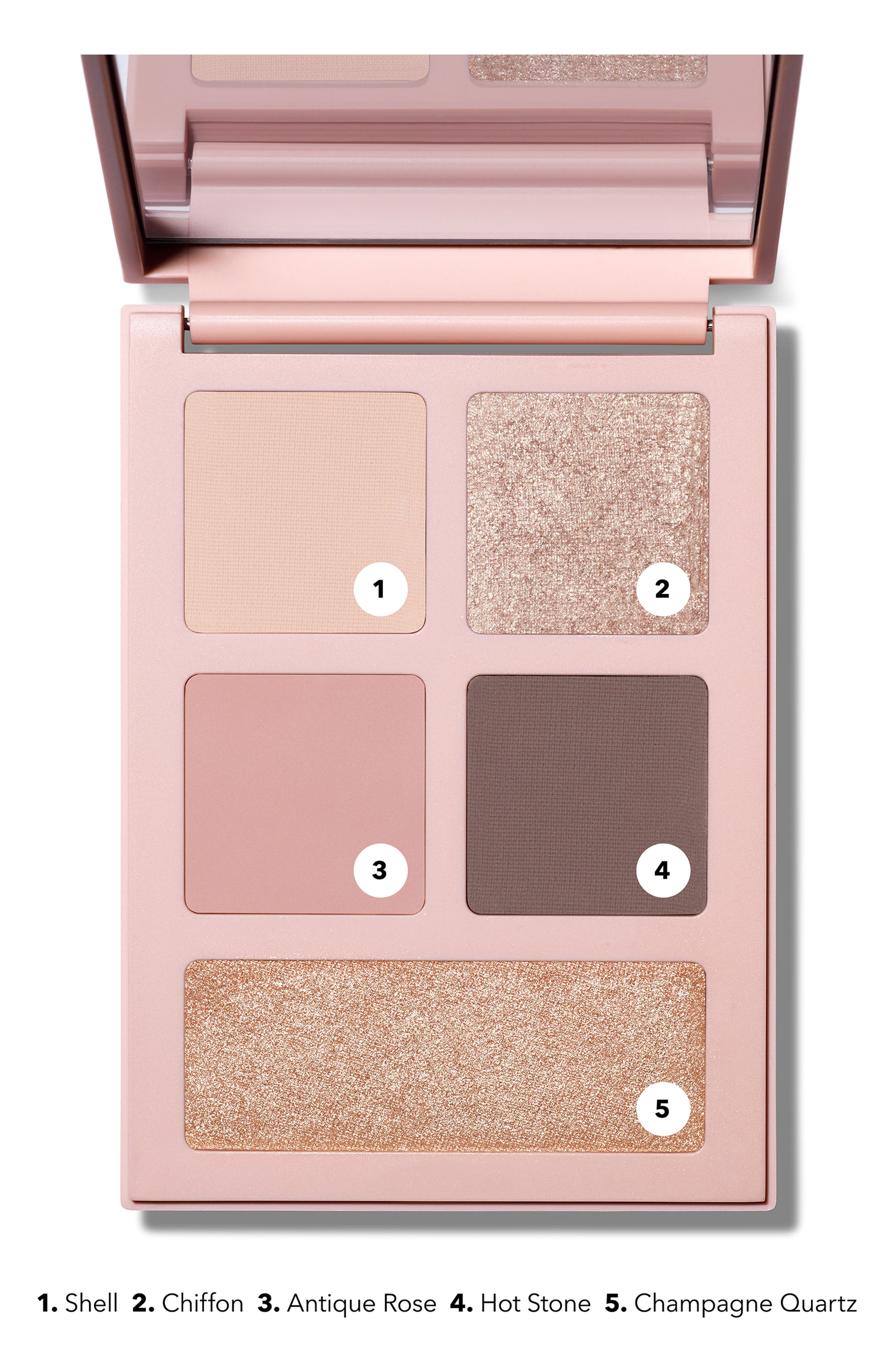 ,                             x Ulla Johnson The Minou Eyeshadow Palette,                             Alternate thumbnail 6, color,                             MINOU
