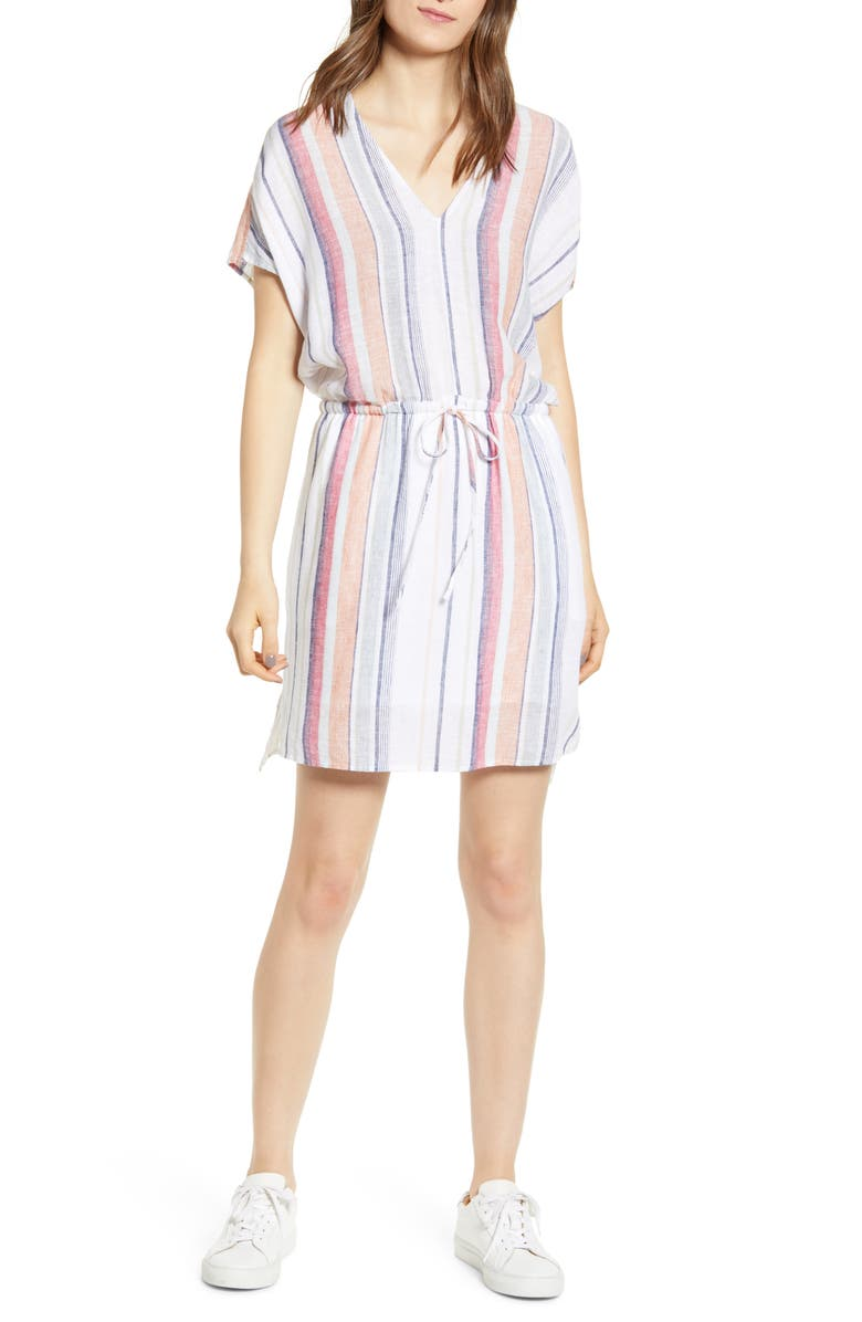 RAILS Wren Stripe Dress, Main, color, MARRAKESH STRIPE