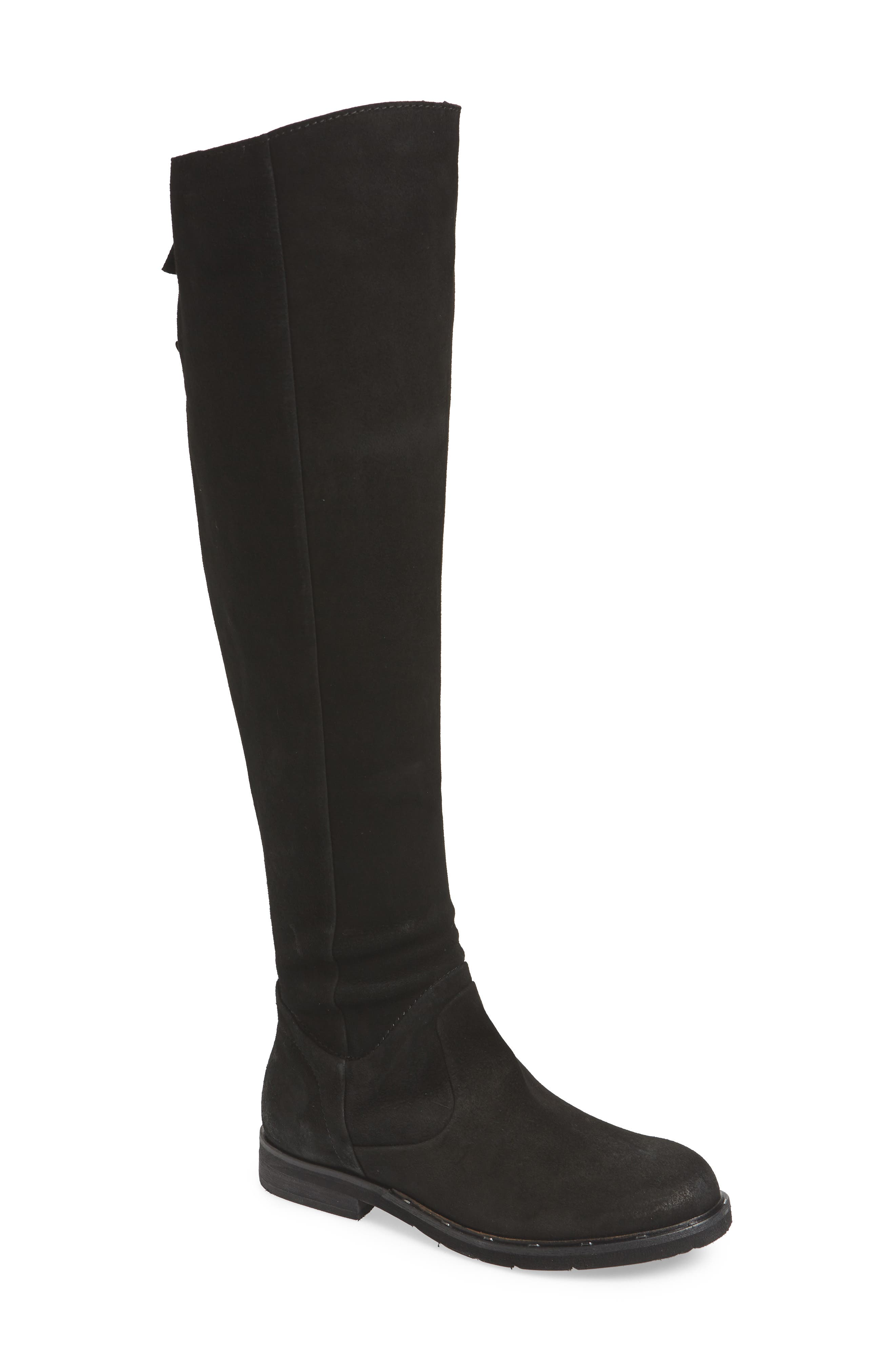 Otbt Steerage Over The Knee Boot- Black