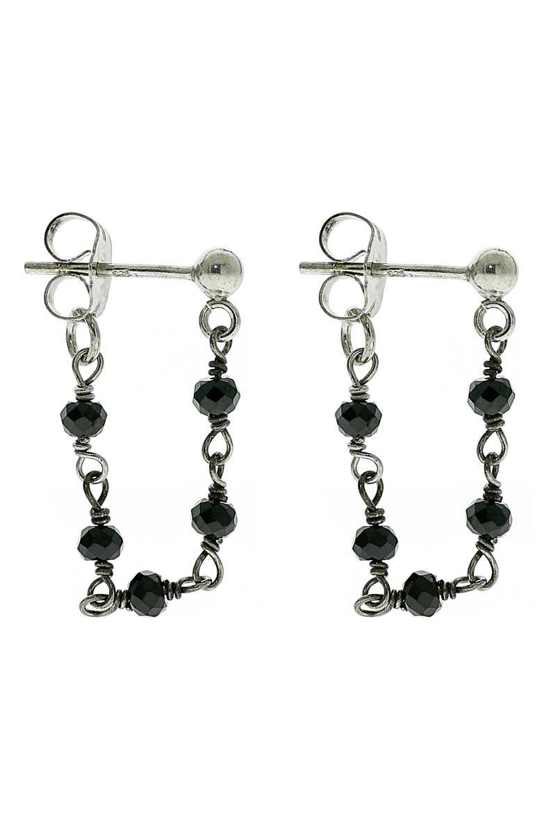 ADORNIA Rosary Drop Earrings, Main, color, 040