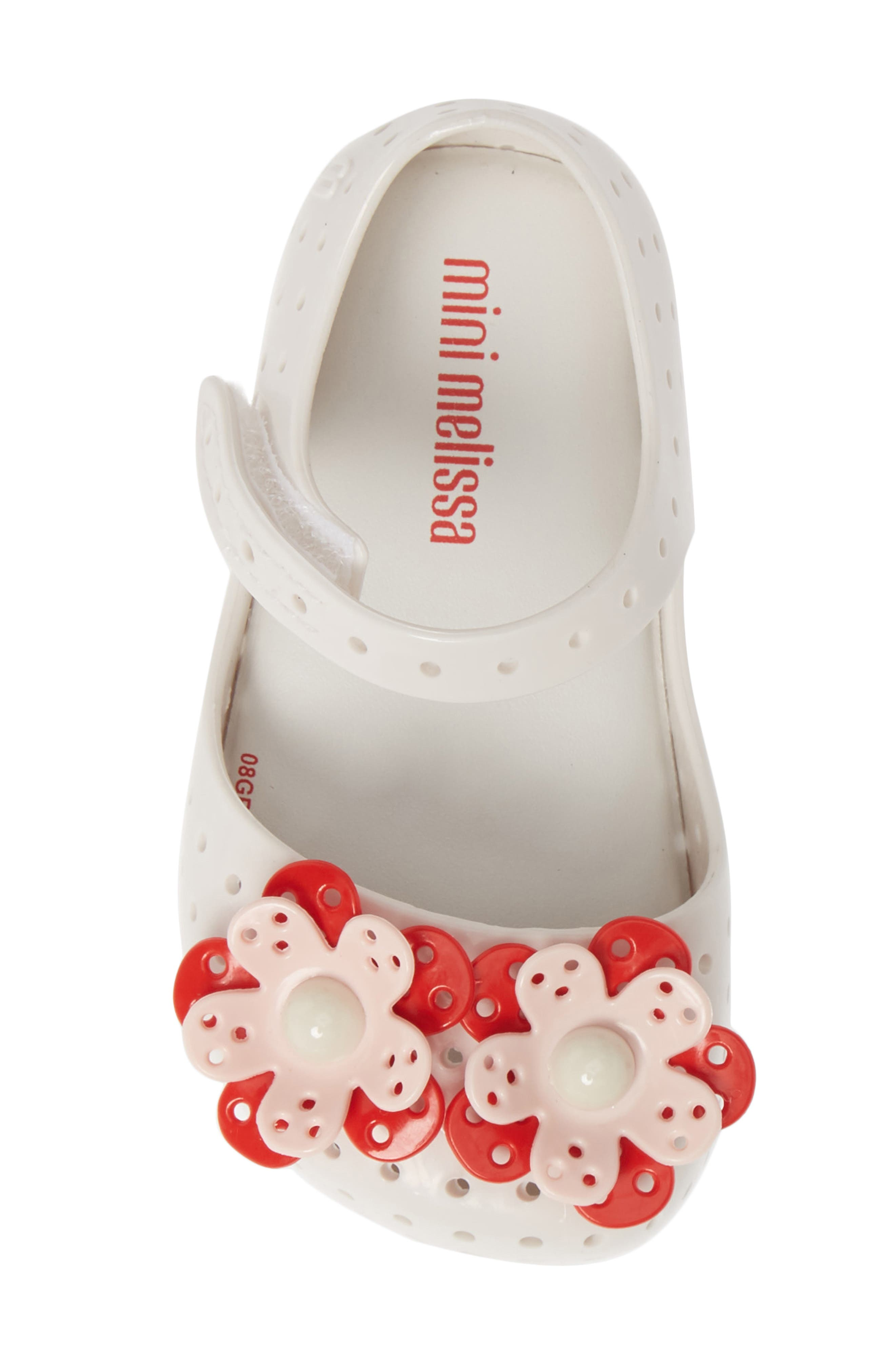 ,                             Furadinha XII Perforated Mary Jane,                             Alternate thumbnail 5, color,                             BRIGHT WHITE