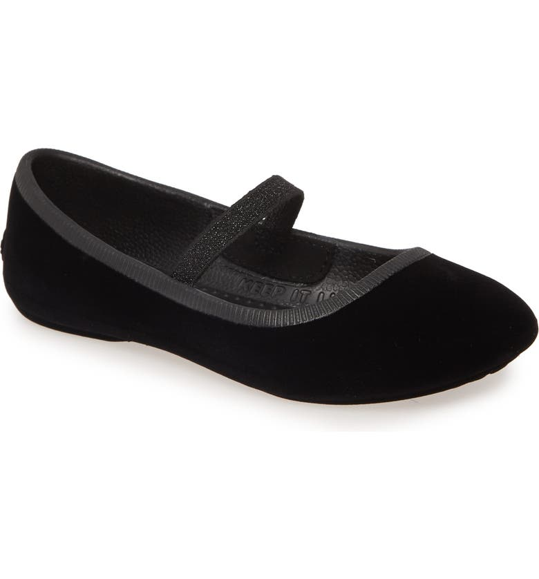 NATIVE SHOES Native Margot Mary Jane Flat, Main, color, JIFFY BLACK
