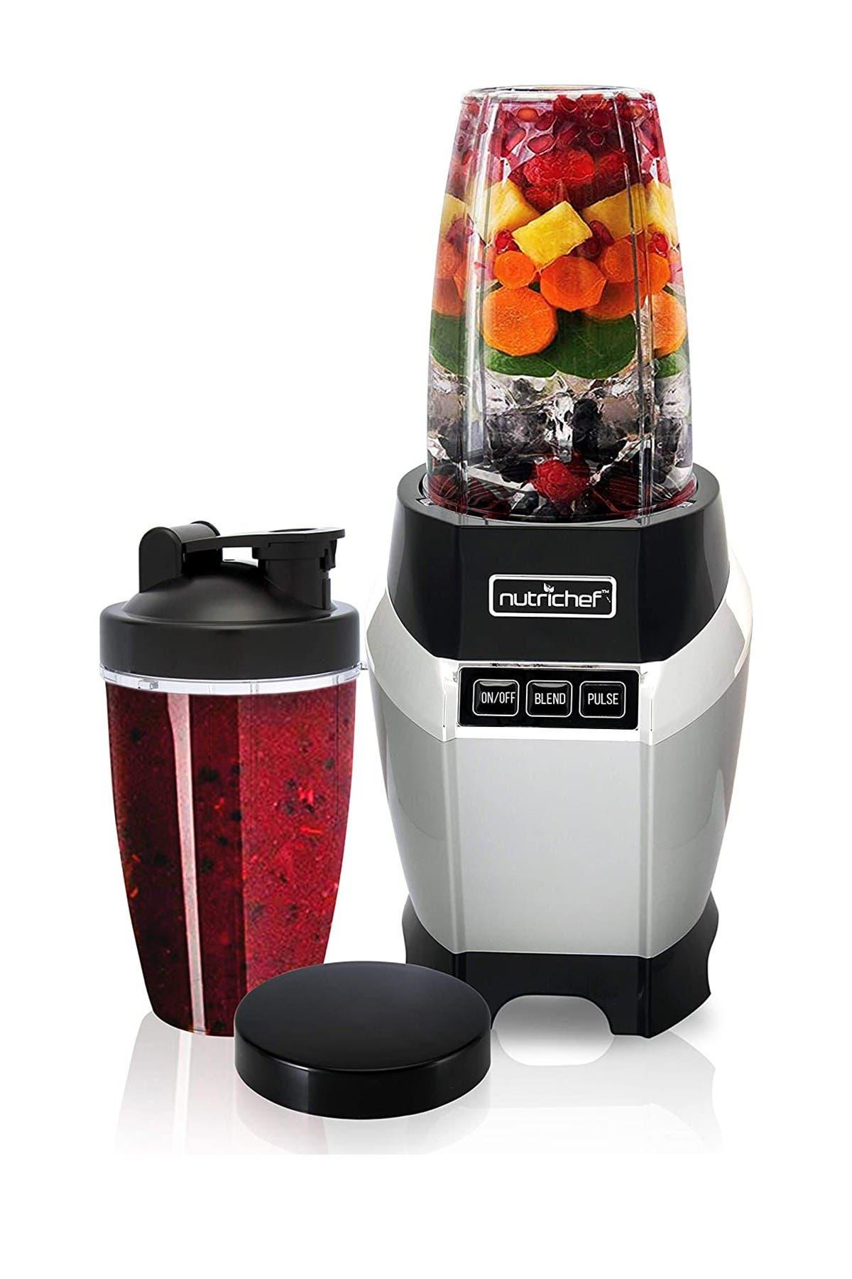 Image of NutriChef Professional Home Kitchen Blender - Digital Countertop Power Pro Blender with Pulse Blend