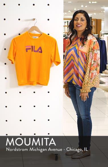 Florita Velour Logo Tee, sales video thumbnail