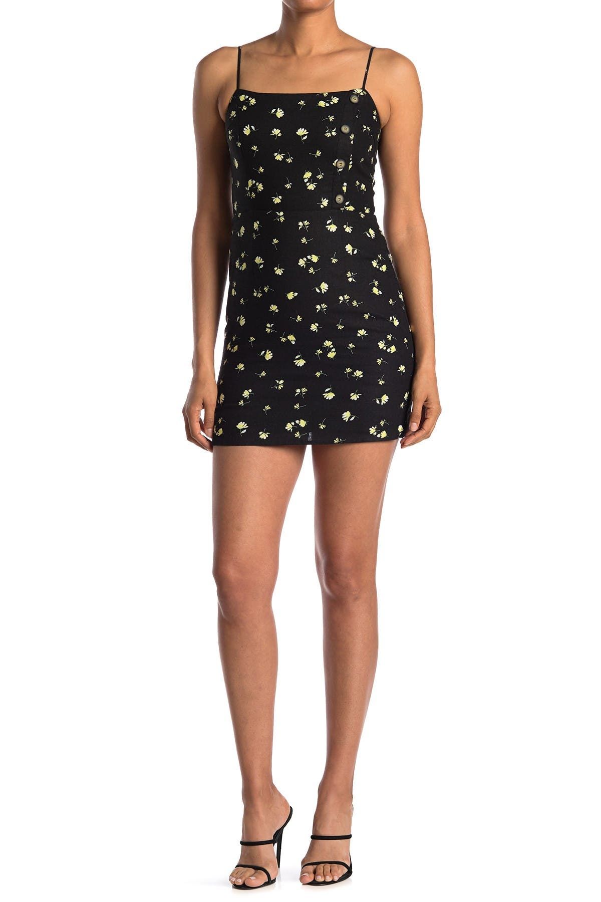 Image of Sophie Rue Square Neck Mini Dress