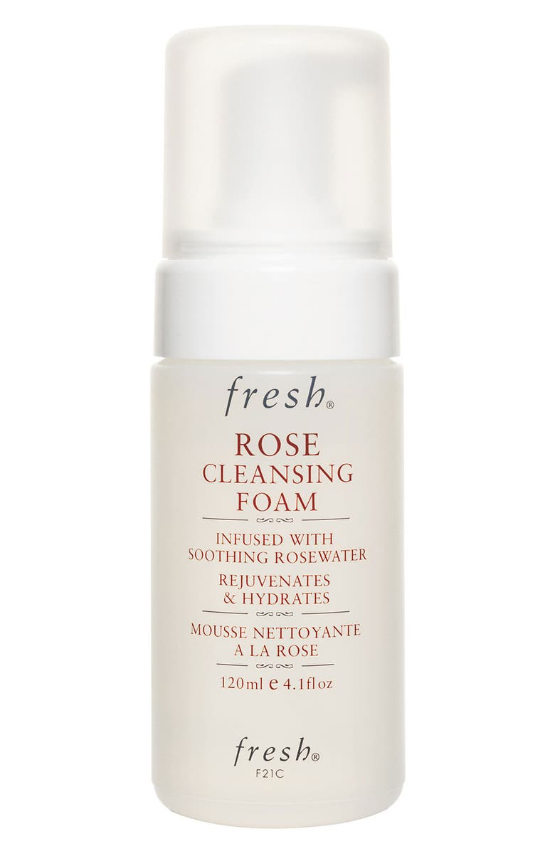 FRESH<SUP>®</SUP> Rose Cleansing Foam, Main, color, NO COLOR