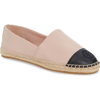 Tory Burch Colorblock Espadrille Flat, Pink