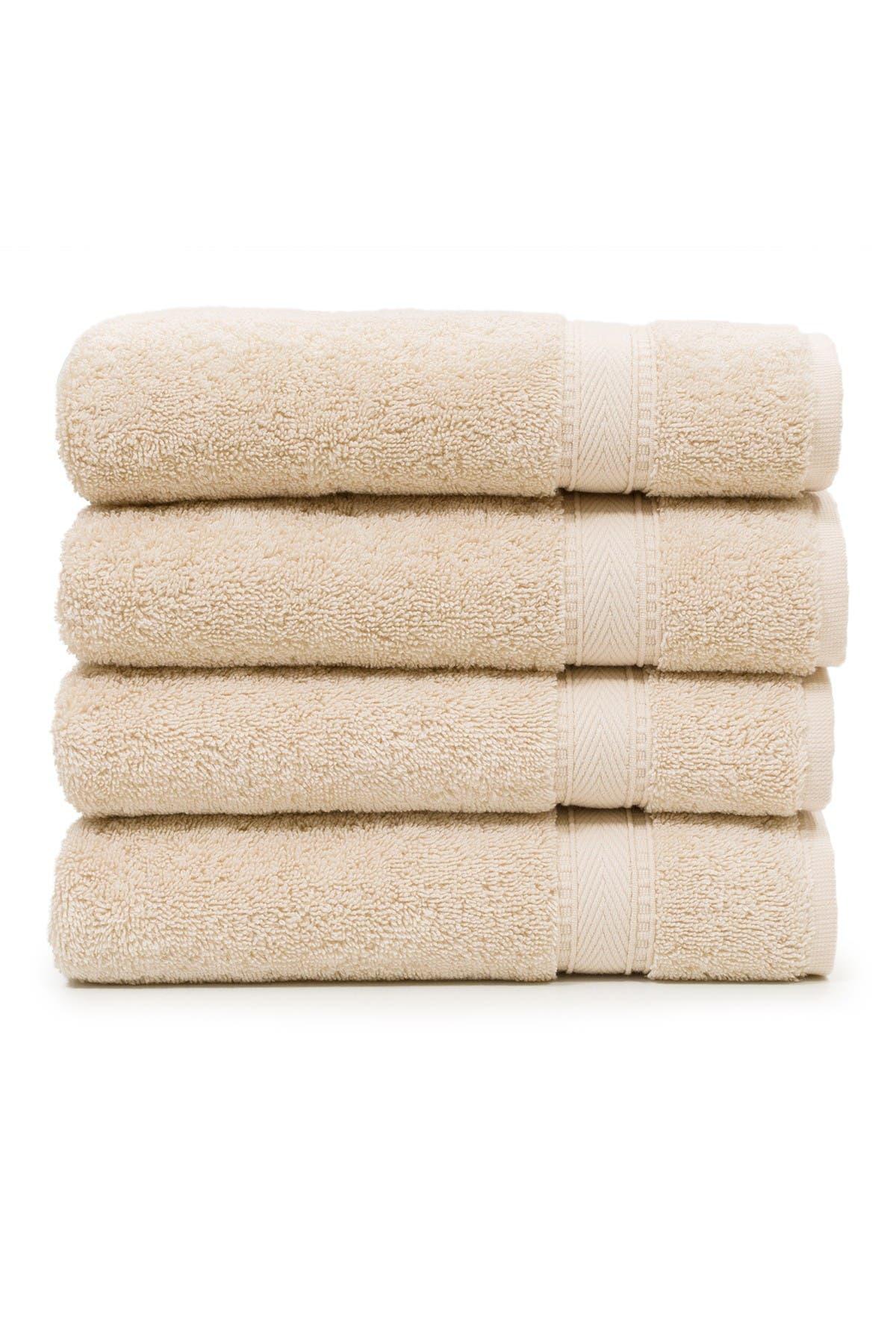 Image of LINUM HOME Sinemis Terry Hand Towels - Set of 4 - Beige