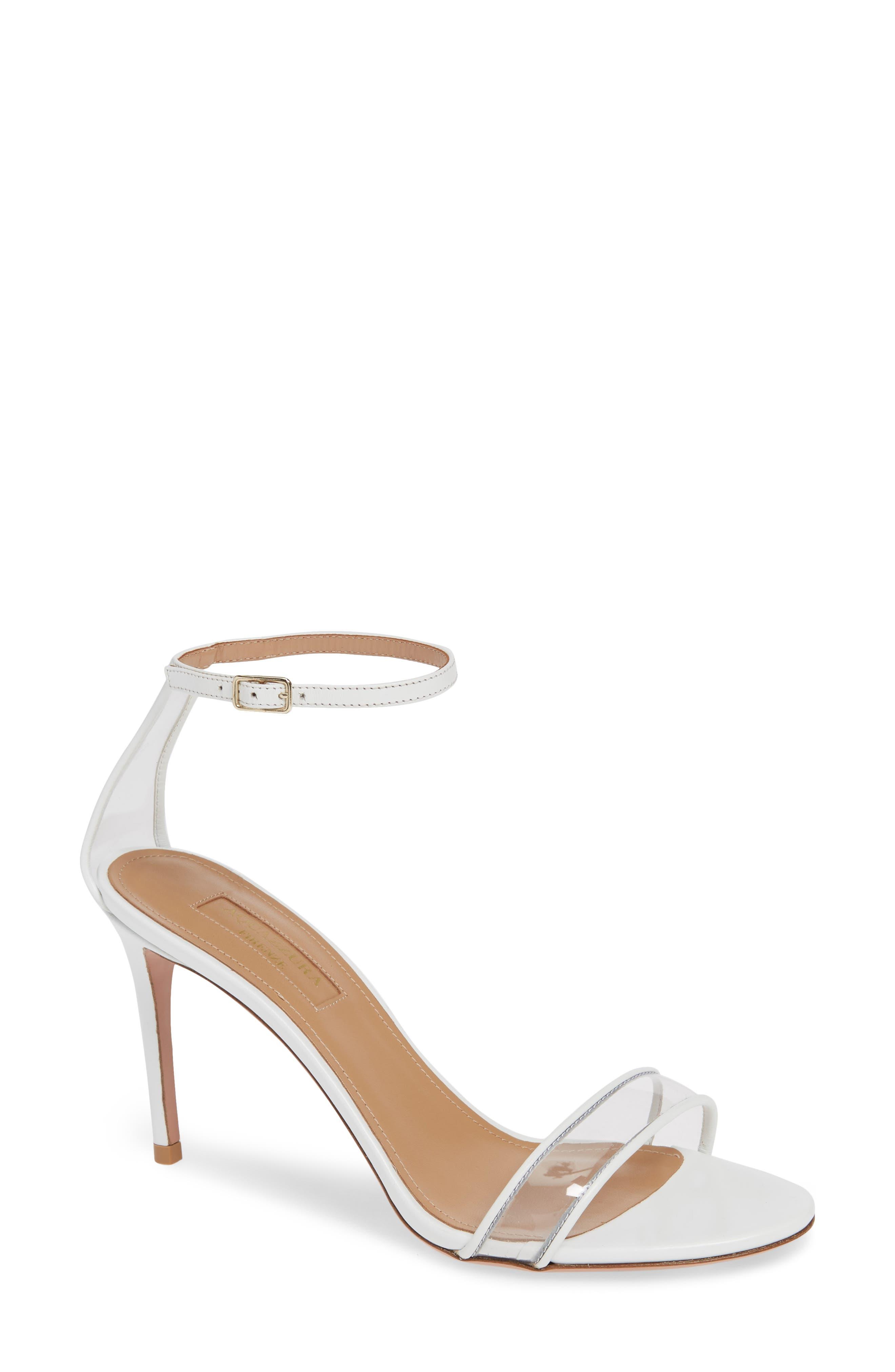 Aquazzura Minimalist Clear Sandal