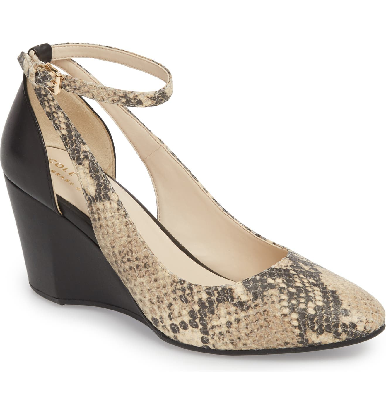dad557d7a230 Cole Haan Lacey Cutout Wedge Pump (Women) | Nordstrom