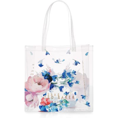 Ted Baker London Raspberry Ripple Clear Shoulder Bag - Blue